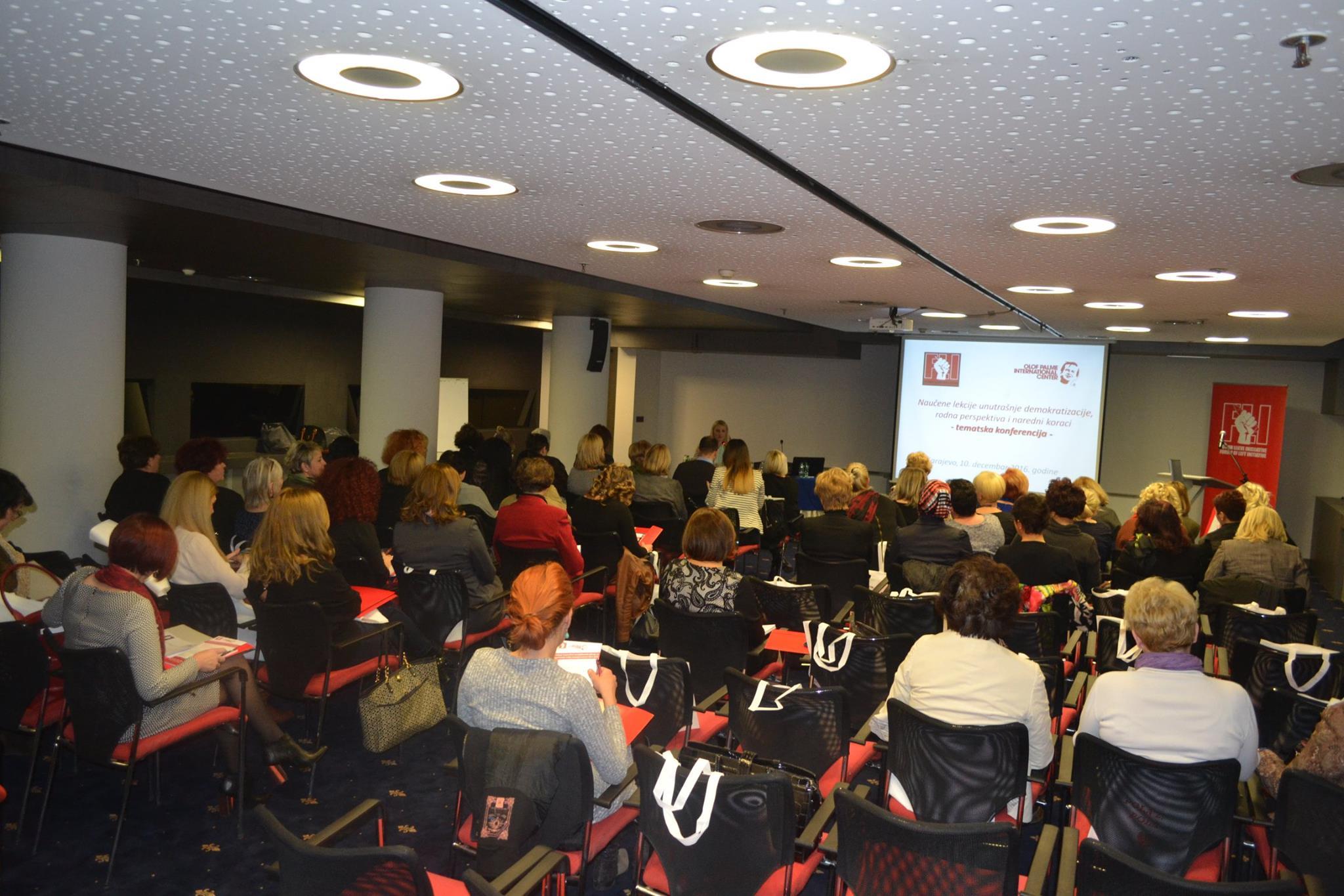 Završena tematska konferencija Foruma žena SDP BiH