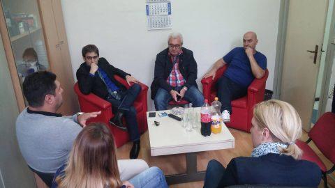 Ombudsman Socijaldemokratske partije Švedske u posjeti OO SDP Novi Grad Sarajevo